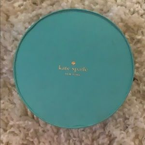 Kate spade jewelry box and pouch
